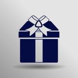 Icono del regalo Imagenes de archivo