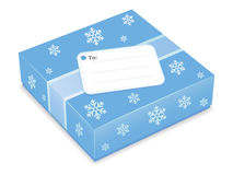 Icono del regalo de Navidad Fotografía de archivo libre de regalías