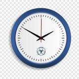 Icono del reloj de pared, estilo realista ilustración del vector