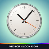 Icono del reloj del vector ilustración del vector