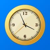Icono del reloj del vector Imagenes de archivo