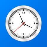 Icono del reloj del vector Imágenes de archivo libres de regalías