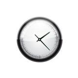 Icono del reloj Vector Foto de archivo