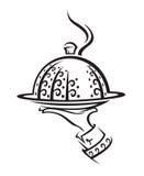 Icono del restaurante Fotos de archivo libres de regalías