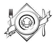 Icono del restaurante Fotografía de archivo