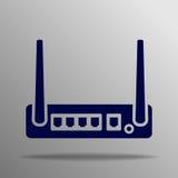 Icono del router Fotografía de archivo