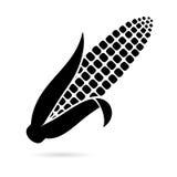Icono del símbolo del maíz stock de ilustración