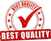 Icono del sello de la calidad stock de ilustración