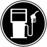 Icono del surtidor de gasolina Fotografía de archivo