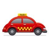 Icono del taxi Fotografía de archivo
