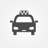 Icono del taxi Fotos de archivo