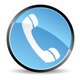 Icono del teléfono Fotos de archivo