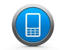 Icono del teléfono móvil Foto de archivo libre de regalías