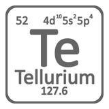 Telurio del elemento qumico de la tabla peridica stock de icono del telurio del elemento de tabla peridica foto de archivo urtaz Gallery