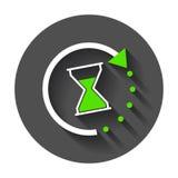 Icono del tiempo ilustración del vector