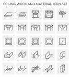 Icono del trabajo del techo libre illustration