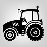 Icono del tractor Imagen de archivo