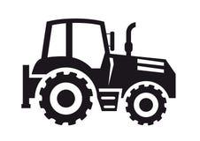 Icono del tractor stock de ilustración