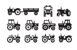 Icono del tractor libre illustration