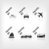 Icono del transporte Foto de archivo