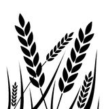 - Icono del trigo - ejemplo agrícola Fotografía de archivo libre de regalías