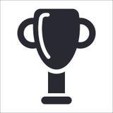 Icono del trofeo stock de ilustración