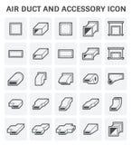 Icono del tubo de aire Imagen de archivo libre de regalías