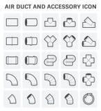 Icono del tubo de aire Foto de archivo libre de regalías