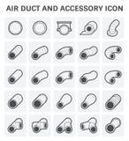Icono del tubo de aire Fotos de archivo libres de regalías