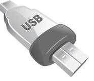 Icono del USB fotos de archivo