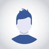 Icono del usuario del avatar de la persona Fotos de archivo