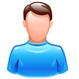 Icono del utilizador del vector Foto de archivo