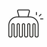 Icono del vector de la horquilla Fotos de archivo libres de regalías