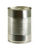 Icono del vector de la lata Foto de archivo libre de regalías