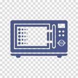 Icono del vector de la microonda Fotos de archivo libres de regalías