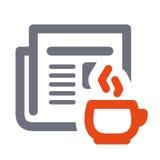 Icono del vector de las noticias Fotografía de archivo libre de regalías