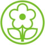 Icono del vector del â de la flor Fotos de archivo libres de regalías