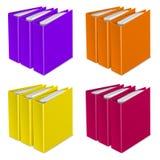 Icono del vector del color de la carpeta Ilustración del Vector