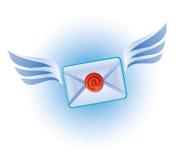 Icono del vector del email Fotografía de archivo libre de regalías
