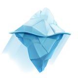 Icono del vector del iceberg