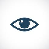 Icono del vector del ojo Fotos de archivo