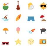 Icono del verano stock de ilustración
