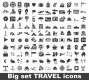 Icono del viaje Imagenes de archivo