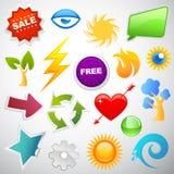Icono del Web Fotos de archivo libres de regalías