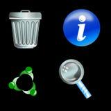 Icono del Web Fotografía de archivo