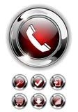 Icono del Web, conjunto del botón. libre illustration
