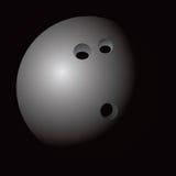 Icono del Web de la bola de bowling Fotos de archivo libres de regalías
