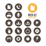 Icono del Web Ilustración del vector stock de ilustración