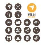 Icono del Web Ilustración del vector ilustración del vector