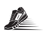 Icono del zapato del deporte Foto de archivo libre de regalías